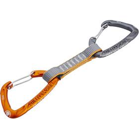 Skylotec Flint Express Wire Quickdraw 11cm, light grey/orange